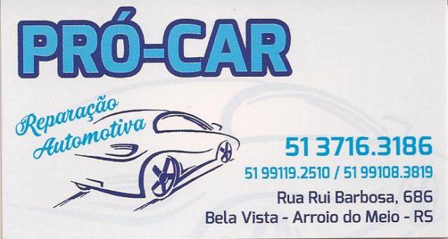 Pró Car Reparação Automotiva