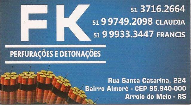 F K Perfurações e Detonações