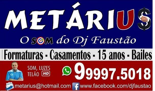 DJ Faustão - Som Metárius